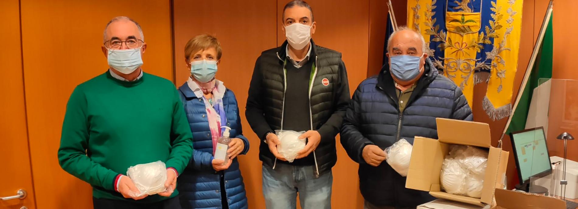 Donazione alla Protezione Civile di Tavagnacco